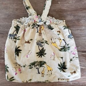 ON safari print mommy/daughter dress set Sm/4T